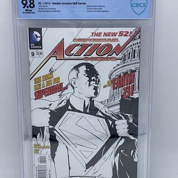 FOMO Of A Black Superman &#8211 Action Comics #9 (2012) $2000 On eBay