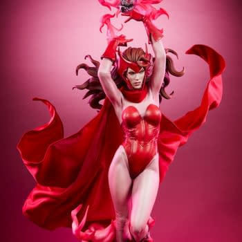 Scarlet Witch Brings Chaos Magic to Sideshow Collectibles