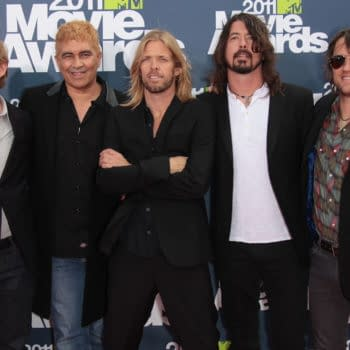 FOO FIGHTERS arriving to MTV Movie Awards 2011 on June 05, 2011 in Hollywood, CA. Editorial credit: DFree / Shutterstock.com