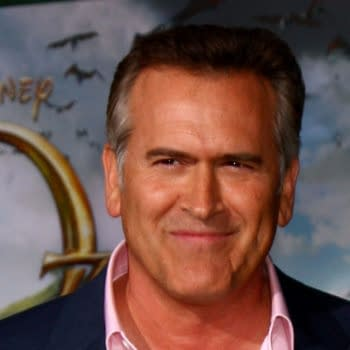 Bruce Campbell at the 'Oz THe Great and Powerful!' World Premiere at the El Capitan Theater on February 13, 2013 in Los Angeles, CA. Editorial credit: Kathy Hutchins / Shutterstock.com
