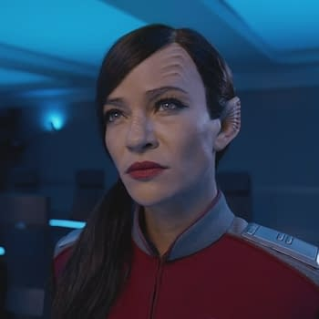 The Orville: Jessica Szohr Says Talla Has A Lot to Say in Season 3