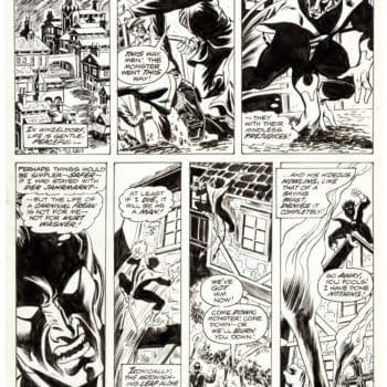 Dave Cockrum's First Nightcrawler X-Men Original Artwork, At Auction