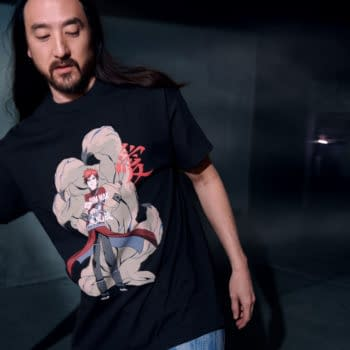 Naruto Shippuden: Steve Aoki and Viz Launch 2nd Apparel Line