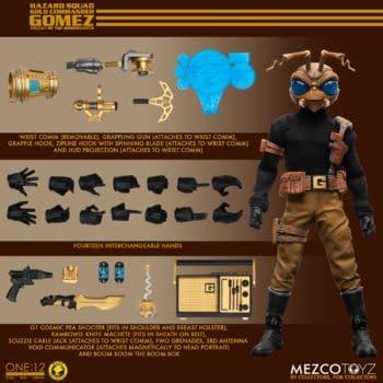 Mezco Toyz Reveals New Commander Gomez One: 12 Collective Figure