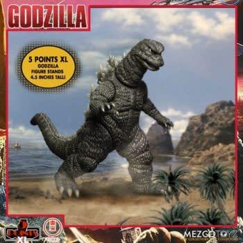 Godzilla Destroy All Monsters Receives 5 Points Box Set From Mezco Toyz