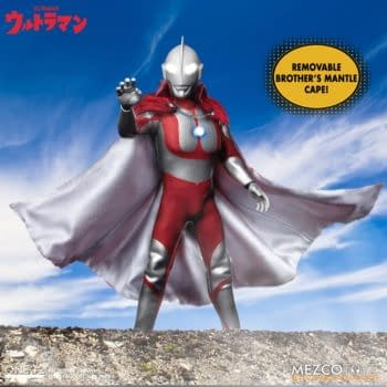 Ultraman Lands on Earth With New One:12 Figure From Mezco Toyz