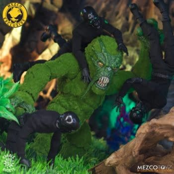 Mezco Unveils First Rumble Society Monster Figure with the Mossquatch