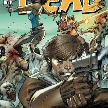 Rob Liefeld Draws Michonne For The Walking Dead