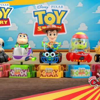 Toy Story Enters the Winner's Circle With New Hot Toys CoRiders