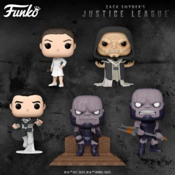 Zack Snyder's Justice League Gets Official Pop Reveal From Funko