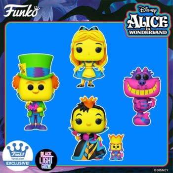Alice In Wonderland Gets Trippy With New Black Light Funko Pops
