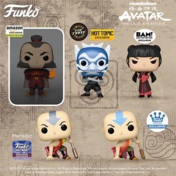 Funko Bends New Wave of Avatar The Last Airbender Pop Vinyls
