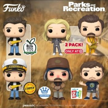 Funko Reveals New Parks and Recreation Pops Including Ben Wyatt