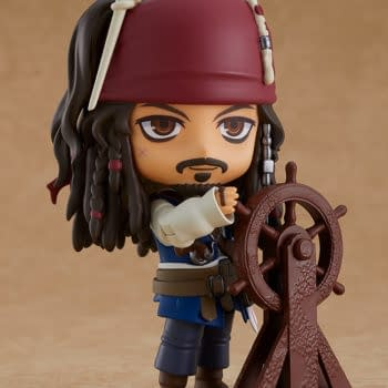 Pirates of the Caribbean Jack Sparrow Sets Sail With Good Smile
