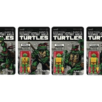 TMNT Mirage ReAction Figure Set Coming From Super7, Previews Exclusive