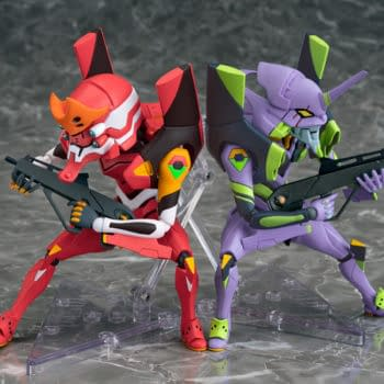 Evangelion EVA02 is Ready for Launch With New Perfom Figure