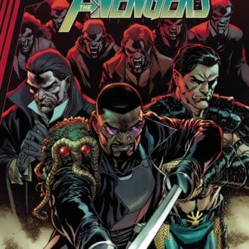 The Cory Smith main cover to Avengers #45, by Jason Aaron and Luca Maresca, in stores from Marvel Comics on Wednesday, April 21st, 2021.