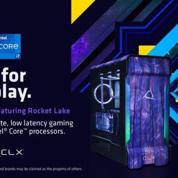 CLX Debuts 11th Gen Intel Core Processors For Their Custom PC's