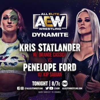 Kris Statlander will face Penelope Ford on AEW Dynamite tonight.