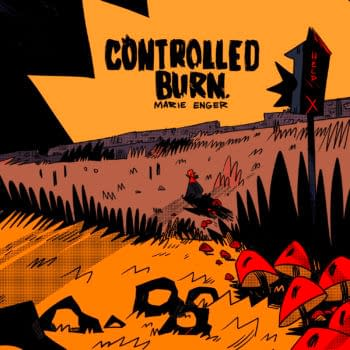 Marie Enger Sells YA Horror Graphic Novel, Controlled Burn