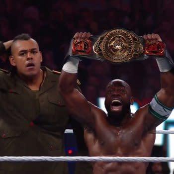 The former Dabba-Kato debuts as an ally of Apollo Crews at WrestleMania 37