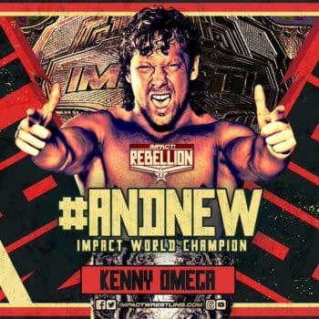 Kenny Omega Won the Impact Championship at Sunday's Rebellion PPV