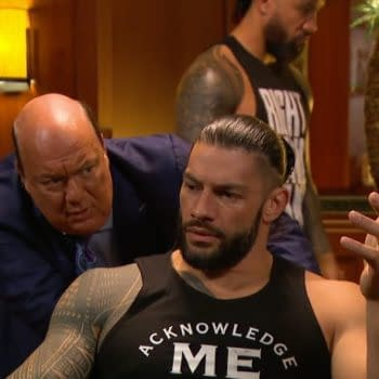 Roman Reigns wonders why he wasted his time watching WWE Smackdown live last night.
