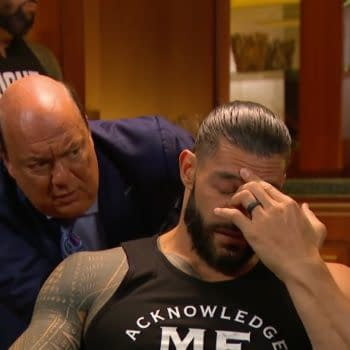 SmackdownRoman Reigns gets ready to watch another episode of WWE Smackdown