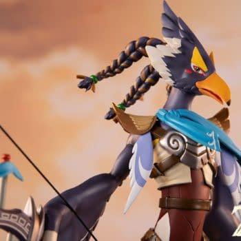 The Legend of Zelda Champion Revali Statue Arrives at First 4 Figures