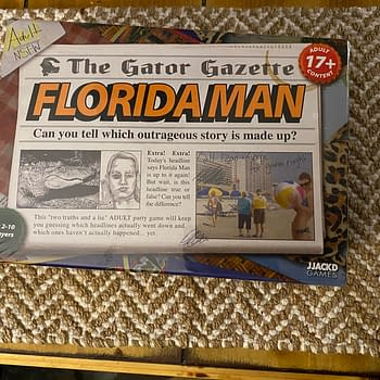 Florida Man Board Game Stirs Up Some Newsworthy Laughs