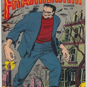Frankenstein Comics #19 On Auction Today At ComicConnect