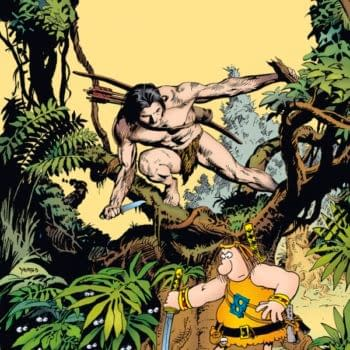Years After Its First Announcement, Groo Meets Tarzan in July