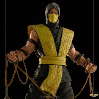 Iron Studios Turns Up The Heat With Mortal Kombat Scorpion Statue