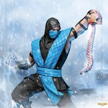 Iron Studios Embrace the Cold With New Mortal Kombat Sub-Zero Statue