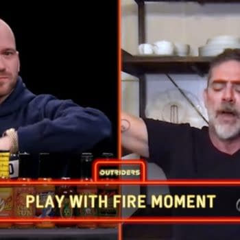 Did Hot Ones Have Jeffrey Dean Morgan Running for His Sh***ing Pants?