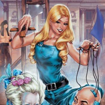 Marjorie Finnegan: Temporal Criminal #1: AWA Unveils Variant Cover