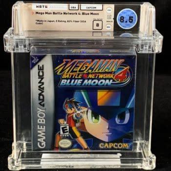Mega Man Battle Network 4 Blue Moon On Auction At Comics Connect