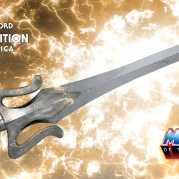 Master of the Universe Replica Power Sword Enters Our Realm
