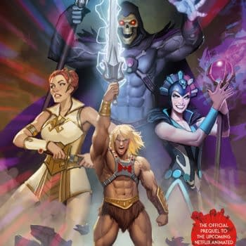 Masters of the Universe: Revelation #1 cover by Stjepan Sejic