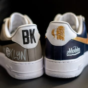 Modelo & Brooklyn Nets Team Up For A New Shoe Collaboration