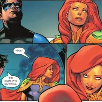 DC Comics' Nightwing, Batgirl and Starfire Triangle (Spoilers)