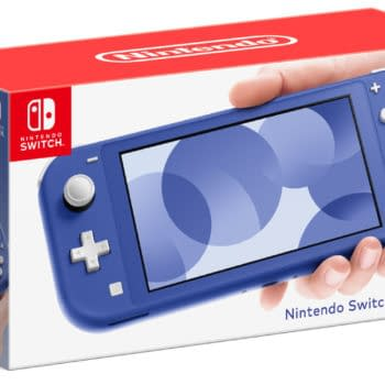 Nintendo Unveils New Blue Switch Lite System