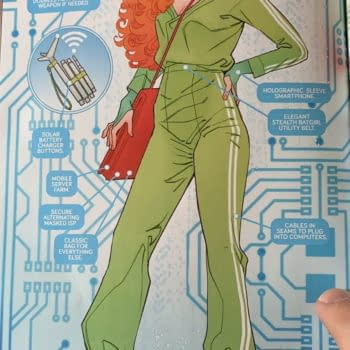 Oracle Gets A New Look And Status From DC Comics Today (Spoilers)