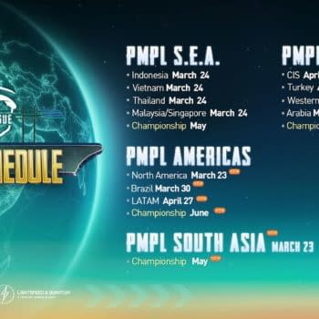 PUBG Mobile Pro League Adds Seven New Regions & World Tournament