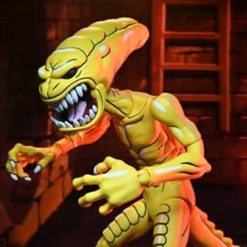 NECA Reveals TMNT Pizza Monster Xenomorph Tribute Figure