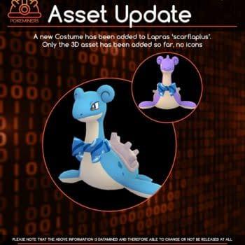Lapras With a Bow Found in New Pokémon GO Datamine