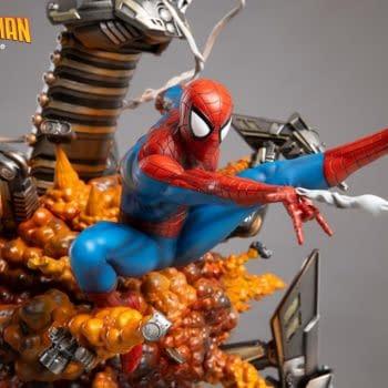 The Amazing Spider-Man Gets Explosive New XM Studios Statue