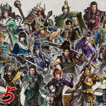 Samurai Warriors 5 Introduces Four New Characters