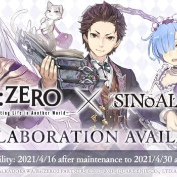 Yoko Taro's SINoALICE Has Started The Re:ZERO Anime Collaboration