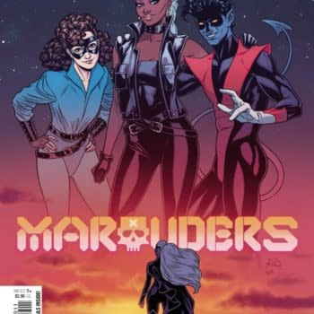 Cover image for MARAUDERS #20